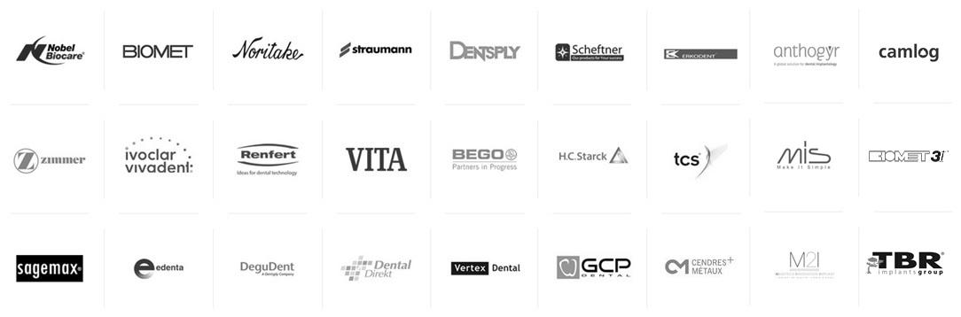 Liste logo matériaux complet